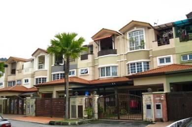 Bukit Segar Jaya 3 storey link house, bank value Rm980k