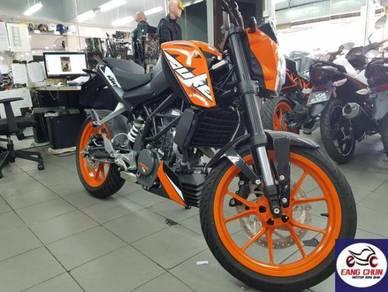 KTM Duke 200 DUKe 200 Promo Zero D/P Now