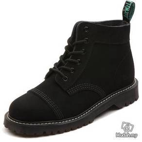 Nubuck leather boots shoes martin