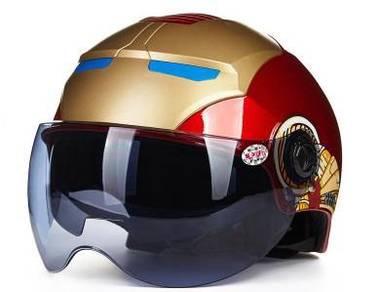 Ironman Motorcycle Helmet Topi Keledar Motosikal