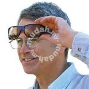 Cermin mata anti silau unisex