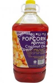 Popcorn popping oil
