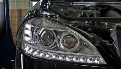 Mercedes W221 facelift led head lamp OEM