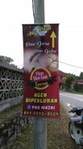 Printing Cetak Bunting/Banner Custom Design