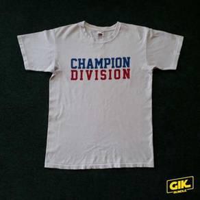 T-Shirt Legit Champion Division Brand Lokal Tshirt