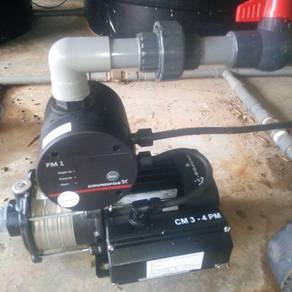 GRUNDFOS Automatic Booster Water Pump Pam Air