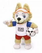 Russia 2018 FIFA World Cup doll toy 25cm