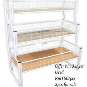 Offer bin 3 layer