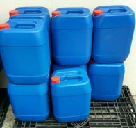 Blue Jerry Can