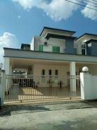 A 4-Rooms Double/Storey Corner Lot House