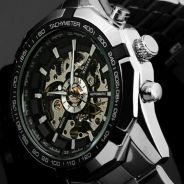 Fully Automatic Self Winding Mechanical Watch 0191