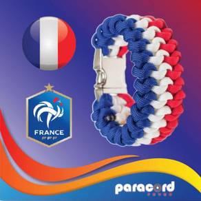 Limited France Paracord Bracelet World Cup 2018