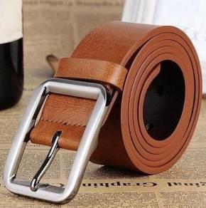 Western Genuine Cow Leather Men's Belt