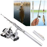 Pocket Pen Fishing Rod Mini Rod Mudah Dibawa