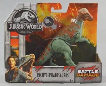 Jurassic World Pachycephalosaurus Battle Damage