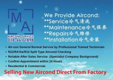 MA Aircond promo - keramat