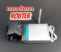 Modem router D-LINK DSL-2640T (used)
