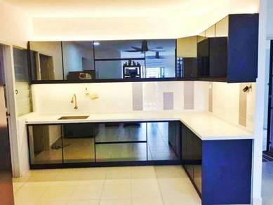 3D Kitchen Cabinet + Quartz Table Top
