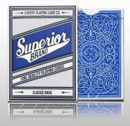 Superior Blue Poker Playing Card