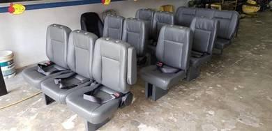 Toyota van hiace nissan urvan 4 row new van seat
