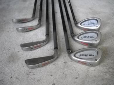 Golf Iron Wilson Fatshaft