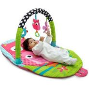 Infantino explore and store baby playgym (Pink Ow)
