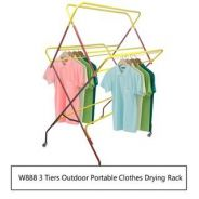 FB156 Outdoor Portable Clothes Drying Rack