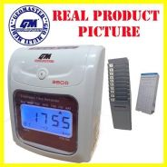 10.GM time recorder punch card machine FULL SET
