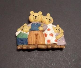 Magnet - Teddy Bear Family