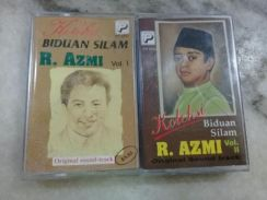 119 Kaset R.Azmi not cd ep lp