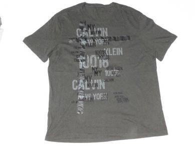 Calvin Klein Green T-Shirt L (Kod TS3396)