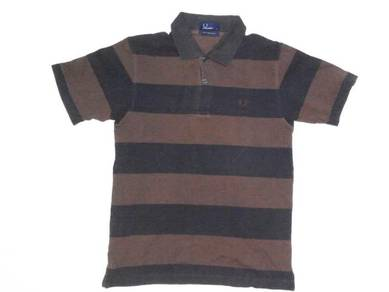 Fred Perry Brown Polo Shirt S (Kod TS4420)