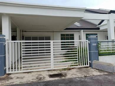 Single Storey terrace house in Tanjung Minyak