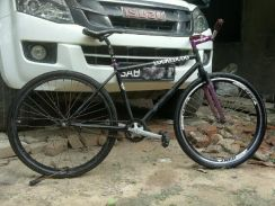 Basikal fixed gear le run