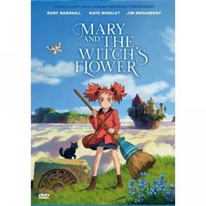 DVD ANIME Mary and the Witch's Flower