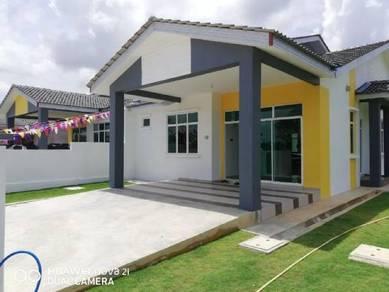 Single Storey Semi-D Termurah Kluang, Johor