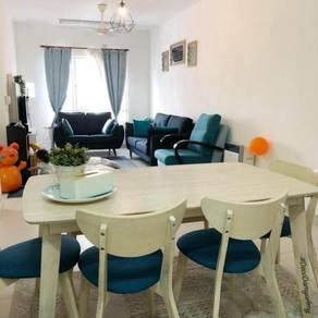 Seri Jati Apartment, Setia Alam - CORNER UNIT FACING POOL