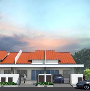 [FULL LOAN] Rumah 4Bilik 20x65 Pulau indah klang Free Yuran house Baru