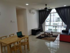 3 Elements Apartments Seri Kembangan Fully Furnished Corner 3 Rooms