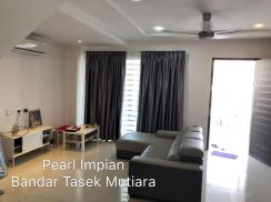 Bandar Tasek Mutiara fully furnished with Alarm & CCTV and Auto gate