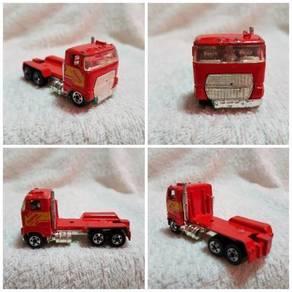 Vintage Hot Wheel Red Truck Head Metal Die Cast To