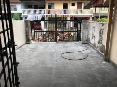 Double storey low cost house for sale senai johor
