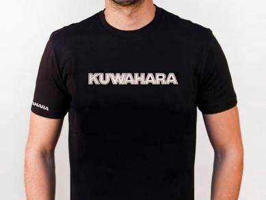 Baju T-Shirt KUWAHARA BMX NSQ375 siap poslaju