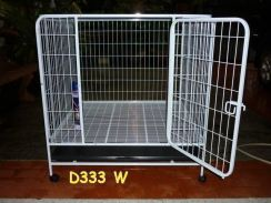 Dog cage White Color