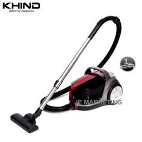 KHIND Bagless Vacuum Cleaner VC9584 Dual Cyclonic
