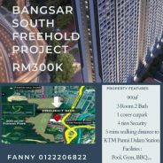 Bangsar south freehold project
