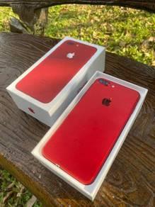 Iphone 7 Plus 256gb Myset, Fullset, Red Limited