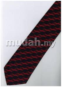 ER21 Red Blue Top Quality Striped Formal Neck Tie