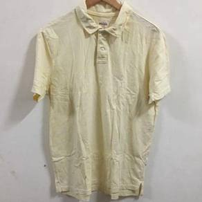 Fossil Polo Shirt Size L Yellow