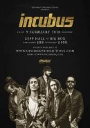 Ticket Incubus live in Singapore 2018
